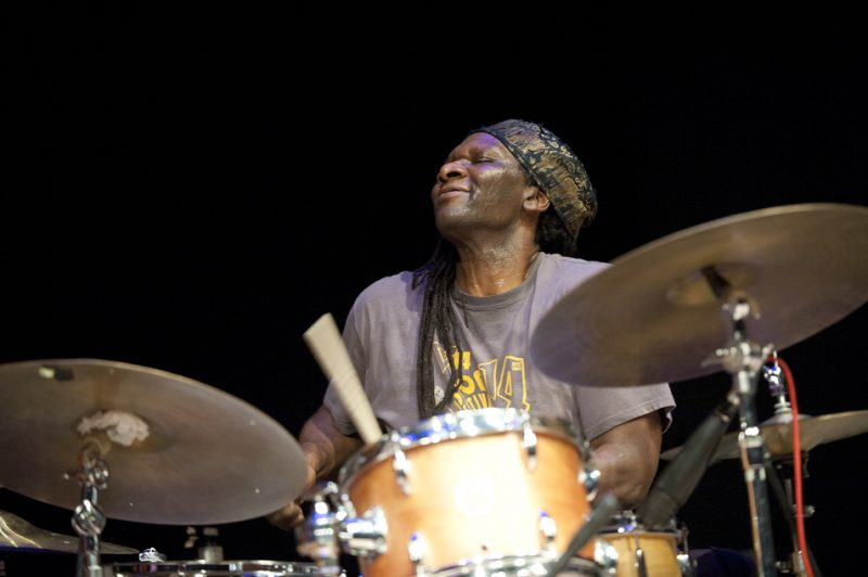 Hamid Drake at Vision Festival 2013; Roulette, Brooklyn