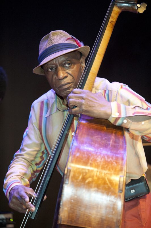 Reggie Workman at Vision Festival 2013; Roulette, Brooklyn