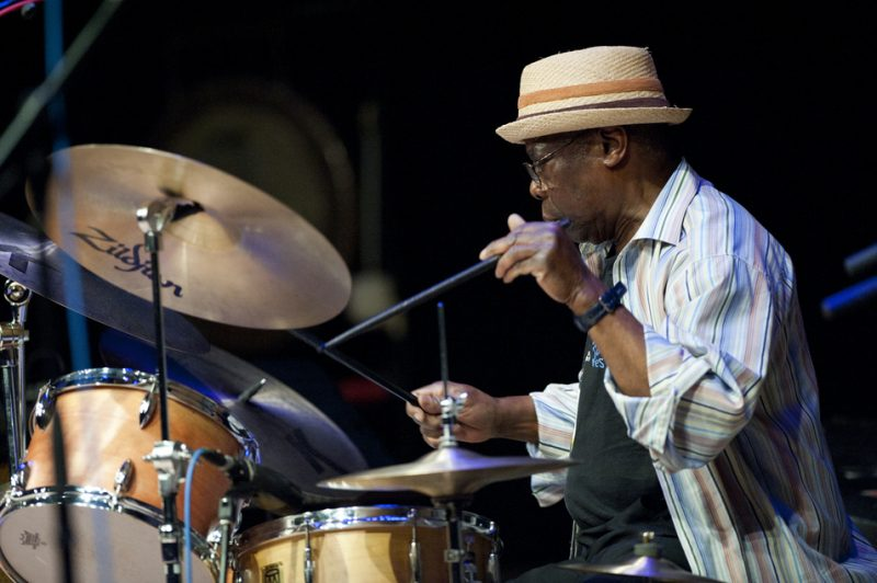 Andrew Cyrille at Vision Festival 2013; Roulette, Brooklyn