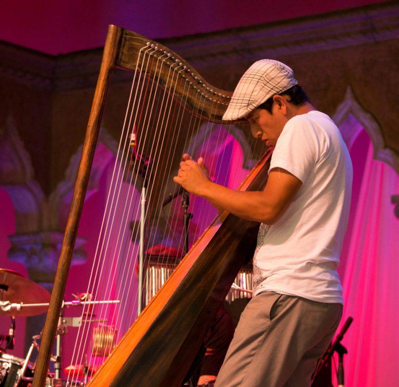 Edmar Castaneda, Caramoor Jazz Festival 8-11