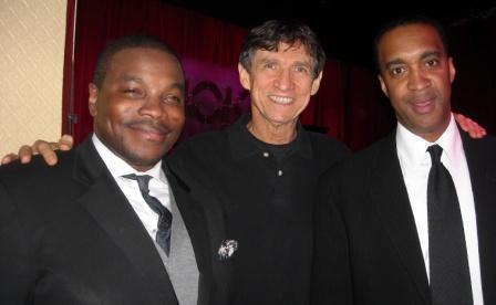 Jeremy Pelt, Russ Davis and Javon Jackson at Smoke in NYC