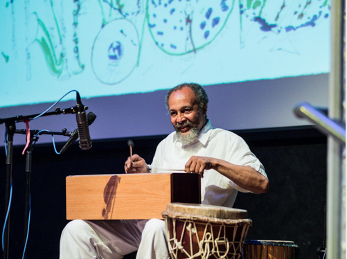 Milford Graves at Vision Festival 18; Roulette, Brooklyn, June 2013