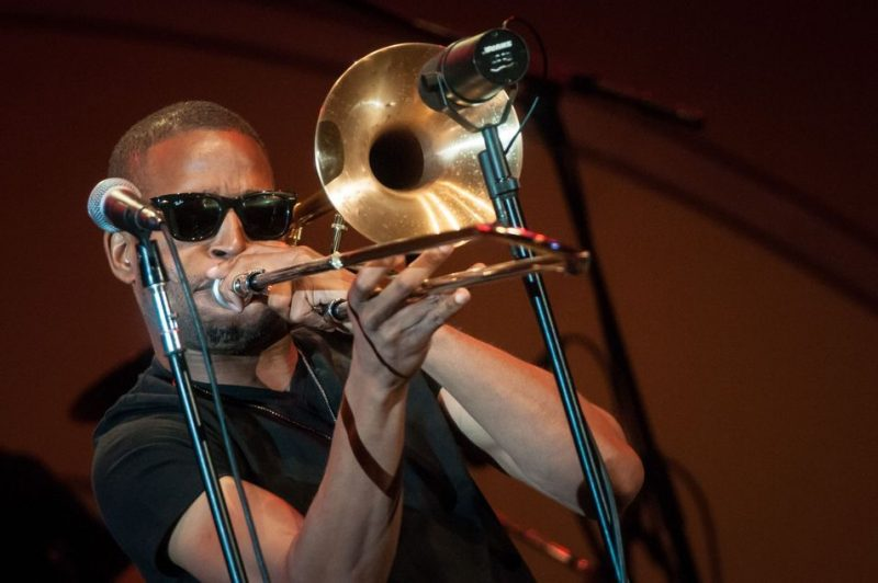 Trombone Shorty at the 2013 Playboy Jazz Festival