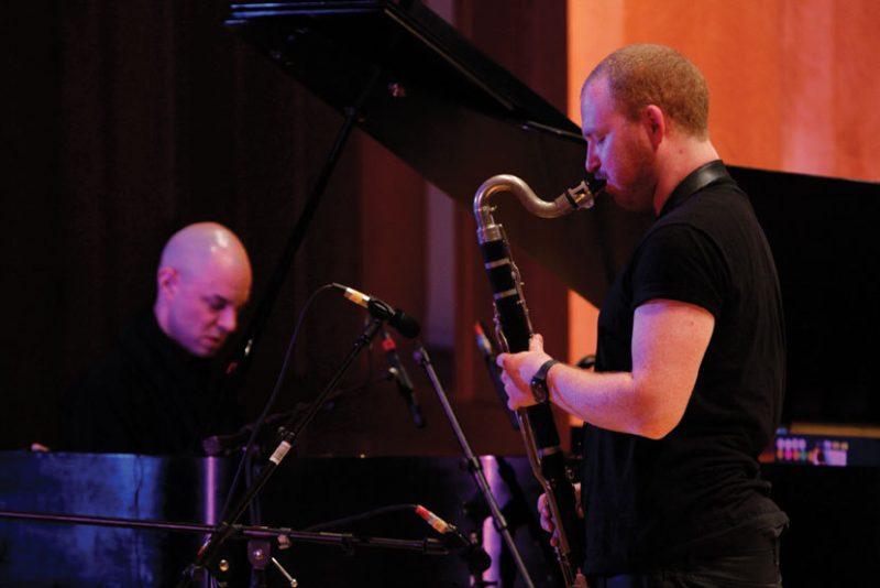 Sha and Nik Bartsch, Photo courtesy of ECM Records