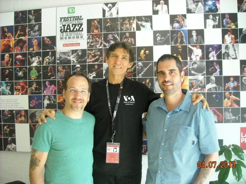 Scott Amendola, Russ Davis and Charlie Hunter at the 34th Montreal Jazz Festival