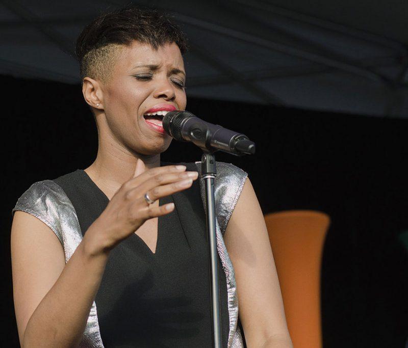 Kellylee Evans, TD Ottawa Jazz Festival, 2013