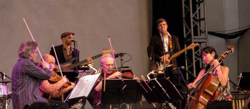 Kronos Quartet, Lincoln Center, NYC. 7-13