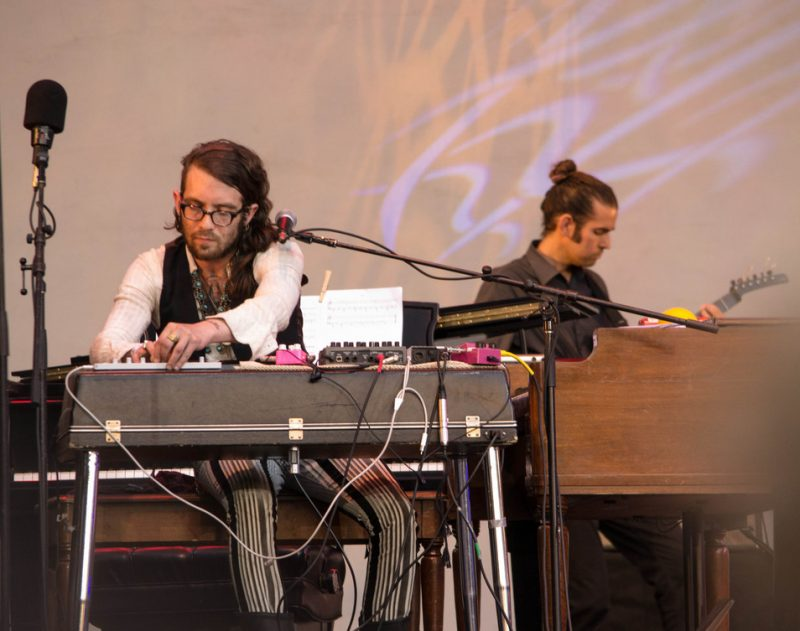 Jared Samuel and Ryan Ferreira of Superhuman Happiness, Lincoln Center, NYC 7-13