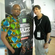 Lionel Loueke & Russ Davis at the Montreal International Jazz Festival 2013 image 0