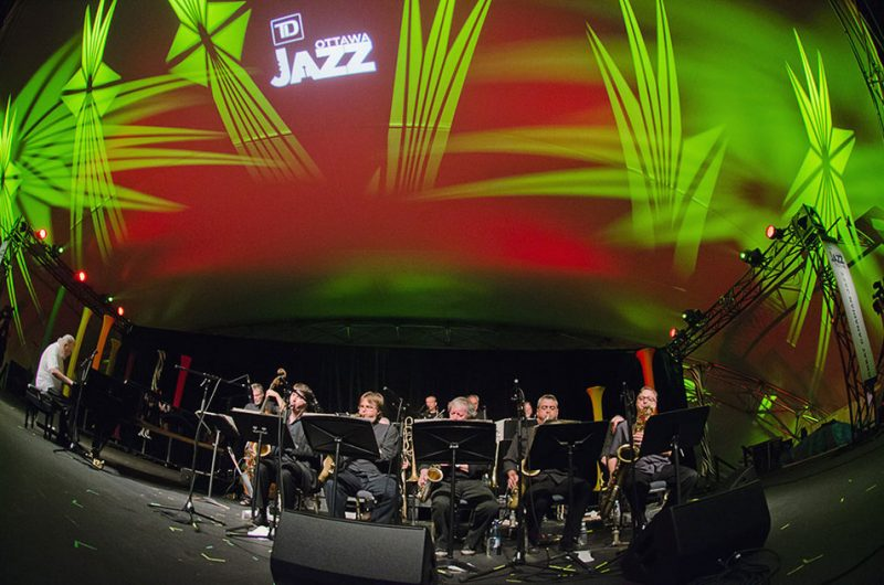 Vic Vogel & Le Jazz Big Band, TD Ottawa Jazz Festival, 2013