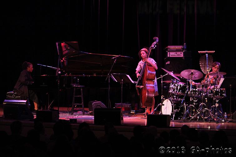 ACS (Geri Allen, Terri Lyne Carrington and Esperanza Spalding) at NYC's Town Hall, June 2013