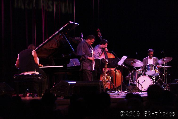 Wayne Shorter Quartet, Town Hall, NYC, June 2013