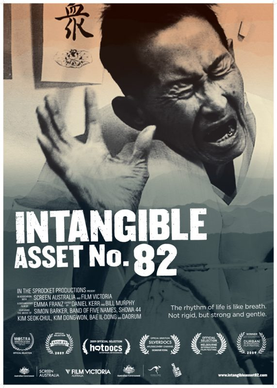 Poster of documentary film Intangible Asset Number 82