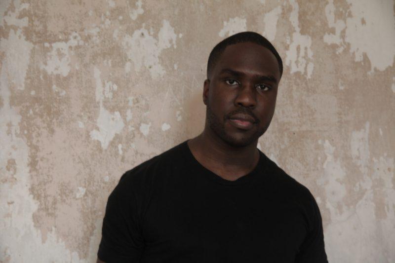 Derrick Hodge, backstage at Newport Jazz Festival 2013