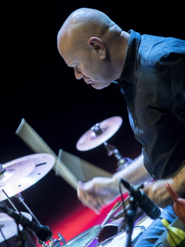 Roberto Gatto at the 2013 Umbria Jazz Festival