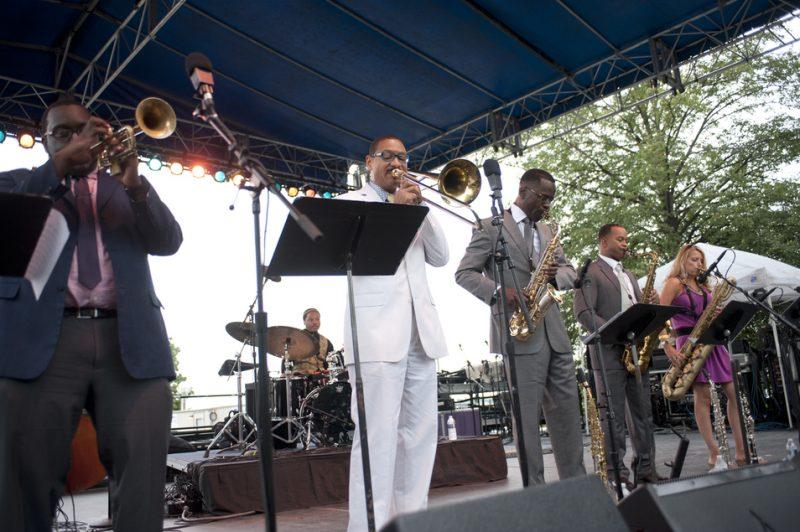 "The Delfeayo Marsalis Octet Presents ""Sweet Thunder"" at the 2013 Detroit Jazz Festival"