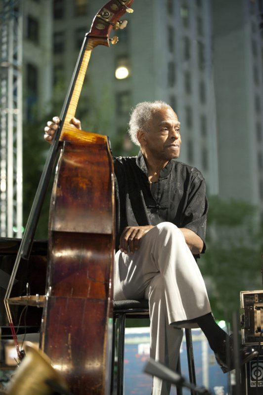 Cecil McBee, Detroit Jazz Festival 2013