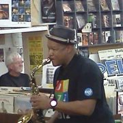 Ernest Dawkins at Jazz Record Mart image 0