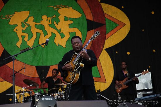 George Benson at New Orleans Jazz Fest 2013, Weekend One image 0
