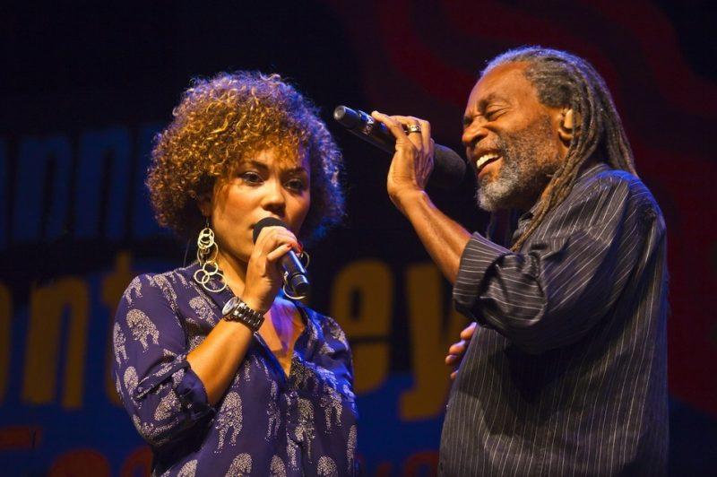 Madison and Bobby McFerrin, Monterey Jazz Festival 2013