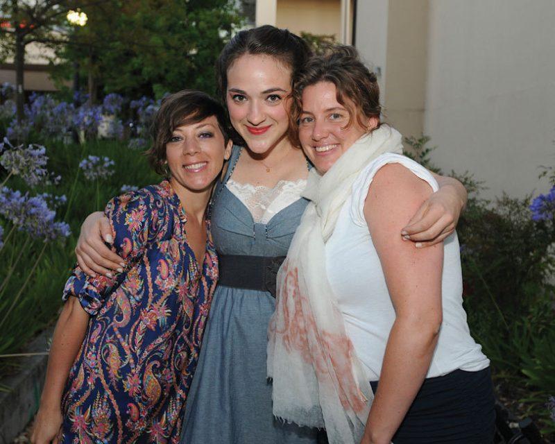 Tillery (l. to r.): Gretchen Parlato, Becca Stevens and Rebecca Martin
