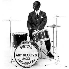 Art Blakey c/o Gretsch Drums