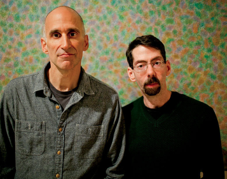 Ralph Alessi  (l.) and Fred Hersch