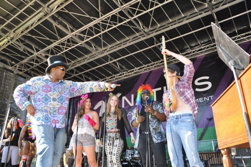 Berklee P Funk Ensemble, BeanTown Jazz Festival 2013