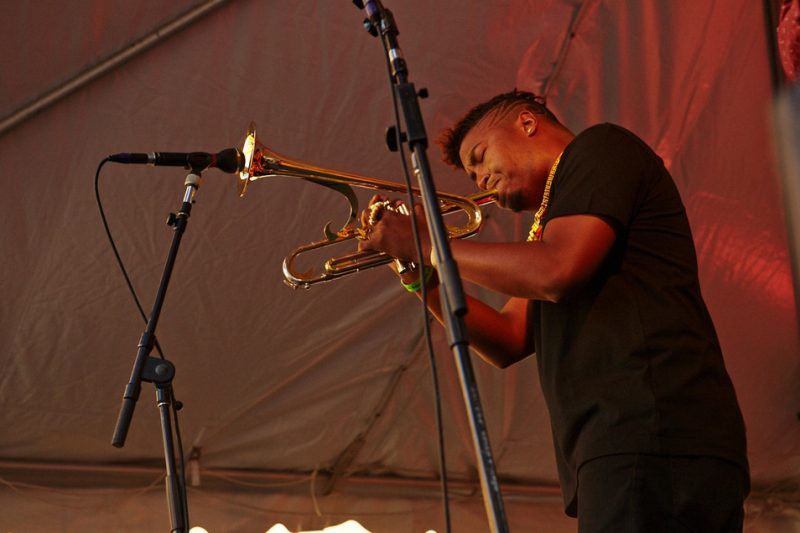 Christian Scott, BeanTown Jazz Festival 2013