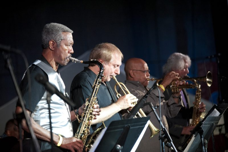 The Cookers (Billy Harper, David Weiss, Eddie Henderson, Gary Bartz) at the 2013 Detroit Jazz Festival