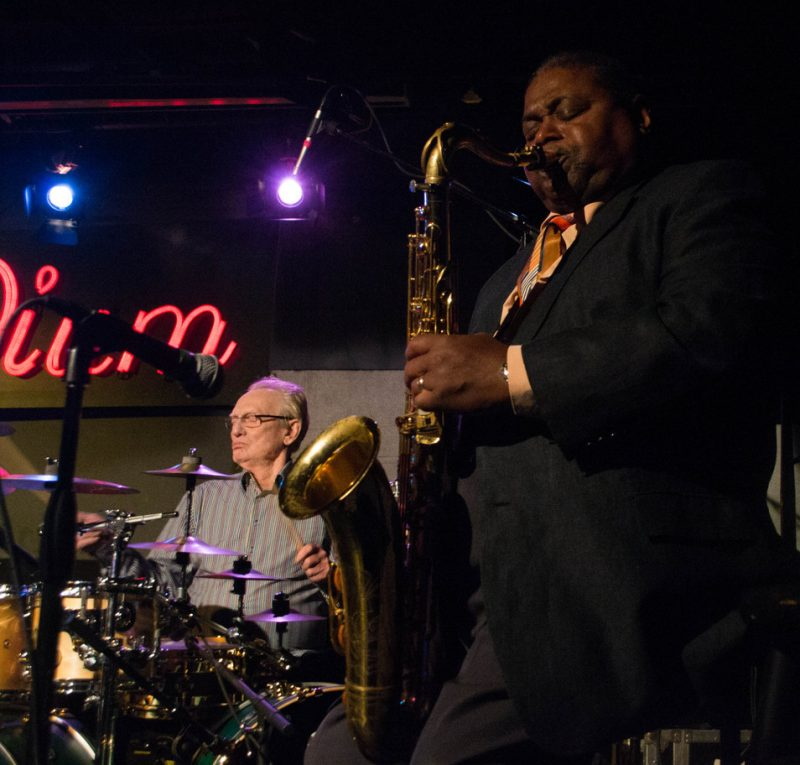 Ginger Baker and Pee Wee Ellis, Iridium, NYC 10-13
