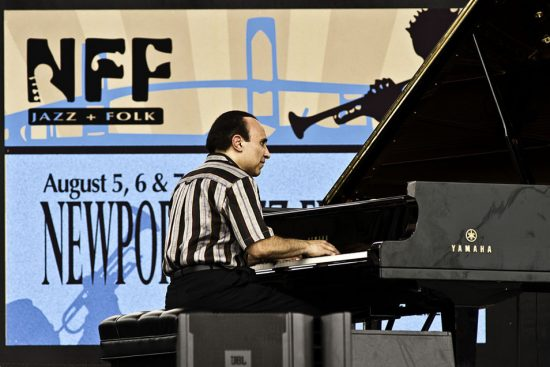 Michel Camilo performing at the 2011 Newport Jazz Festival image 0