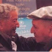 Tony Bennett (l.) and promoter Dick LaPalm image 0