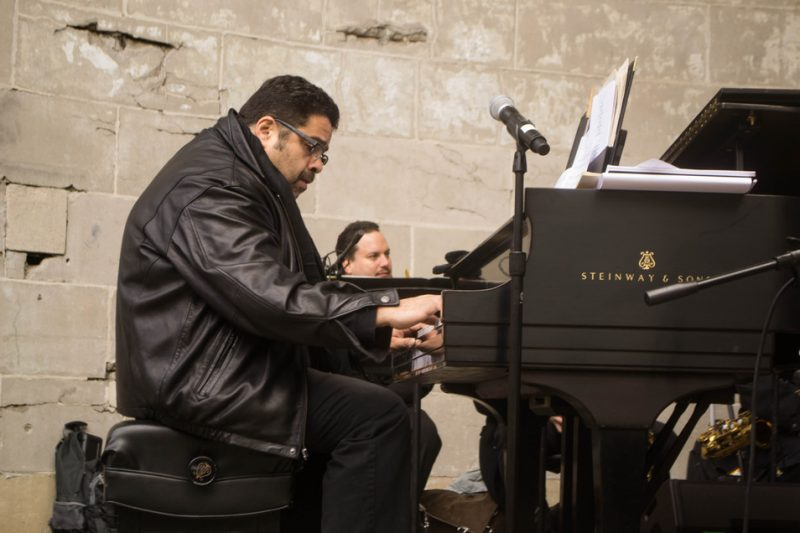 Arturo O'Farrill performs at Jazz & Colors, Central Park, NYC, 11-13