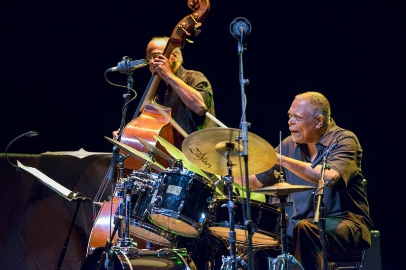 Cecil McBee and Billy Hart, 2013 Barcelona Voll-Damm International Jazz Festival