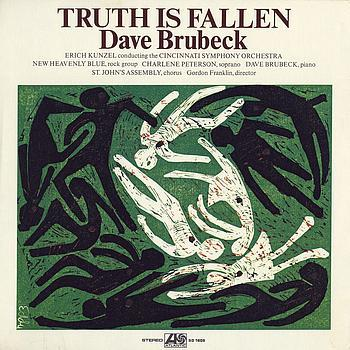 "Dave Brubeck's ""Truth is Fallen"" LP"