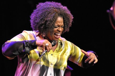 Dianne Reeves in performance at the 2013 London Jazz Festival