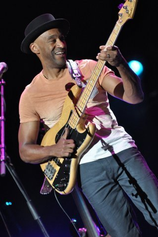 Marcus Miller in performance at the 2013 London Jazz Festival