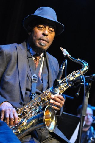 Archie Shepp in performance at the 2013 London Jazz Festival