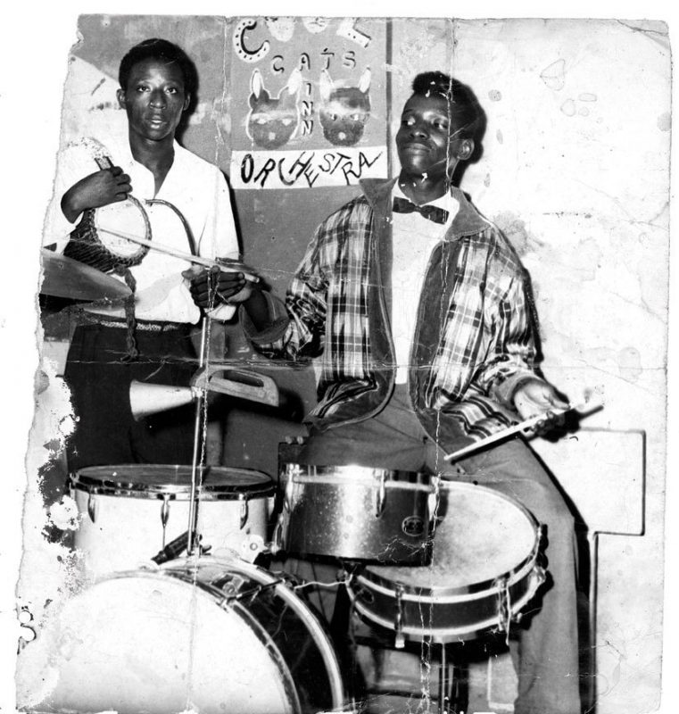 Tony Allen in 1960 (photo courtesy of Tony Allen)