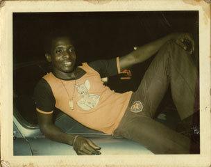 Tony Allen at home in 1975 (Photo courtesy of Tony Allen)