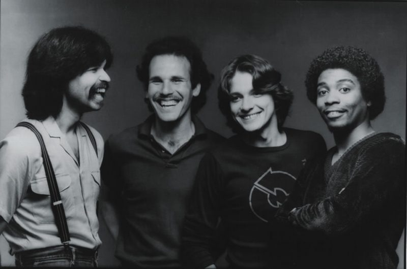 Yellowjackets (L to R: Jimmy Haslip, Russell Ferrante, Robben Ford and Ricky Lawson)