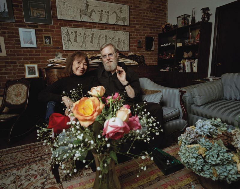 Toshiko Akiyoshi and Lew Tabackin at home