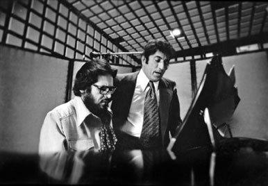 Bill Evans and Tony Bennett in 1975