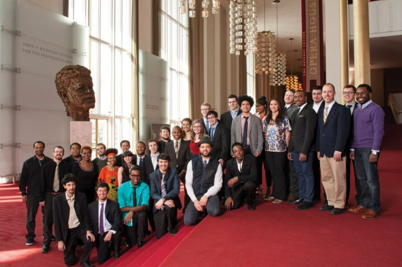 2013 residency participants of Jazz Ahead at the Kennedy Center