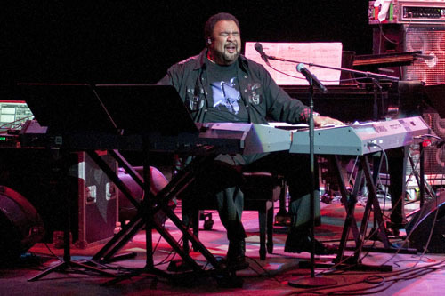 George Duke at Freihofer Jazz Festival at Saratoga Springs