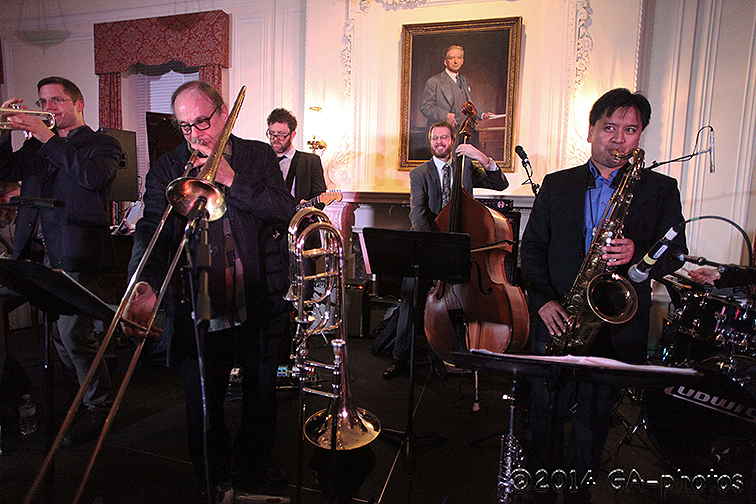 Mostly Other People Do the Killing performs at NYU Law, NYC Winter Jazzfest 2014