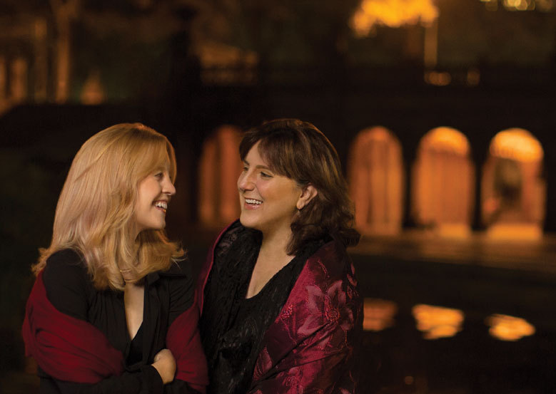 Maria Schneider and Dawn Upshaw