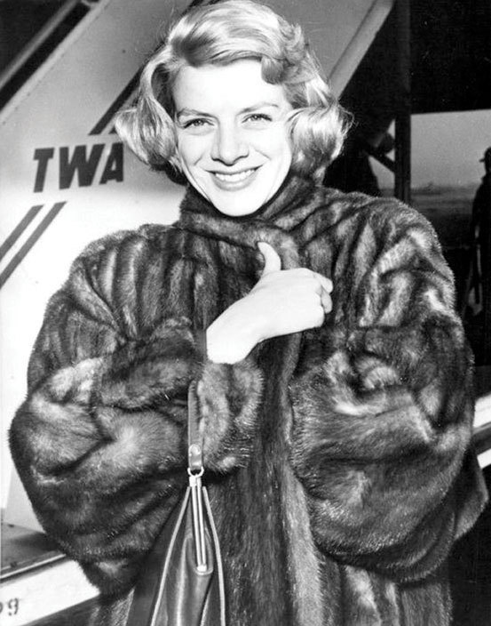 Rosemary Clooney, New York, Dec. 1956, from the collection of Paul Barouh