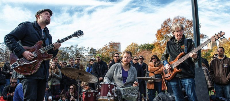 Eric Krasno, Joe Russo and Phil Lesh at Jazz & Colors, NYC, 11-13